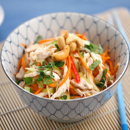 Vietnamese salad with chicken